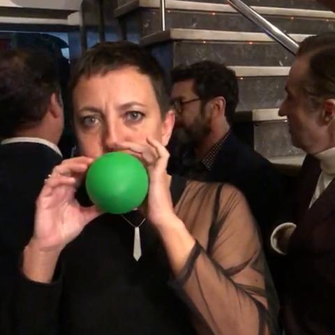 Eva Hache #InflaUnGlobo